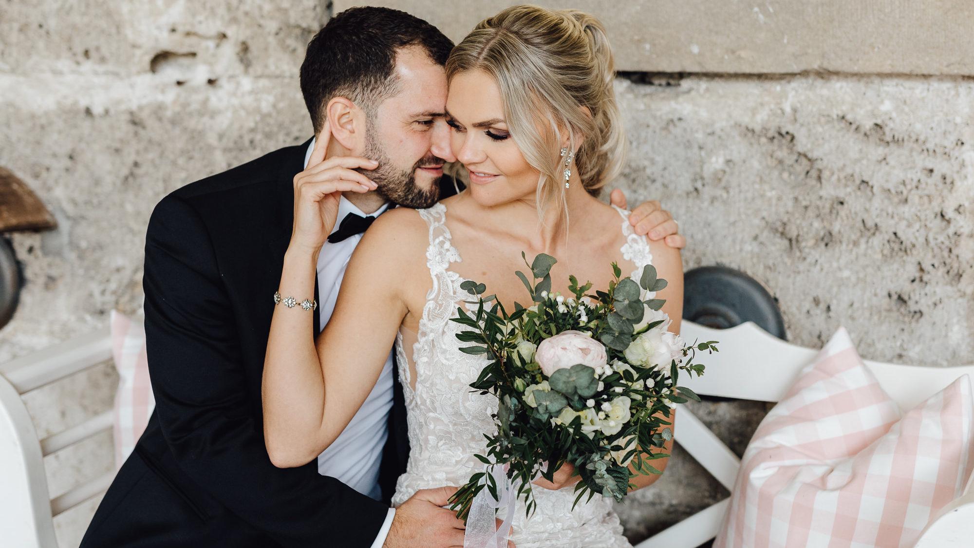 Liebevolle Hochzeit in der Künkele Mühle