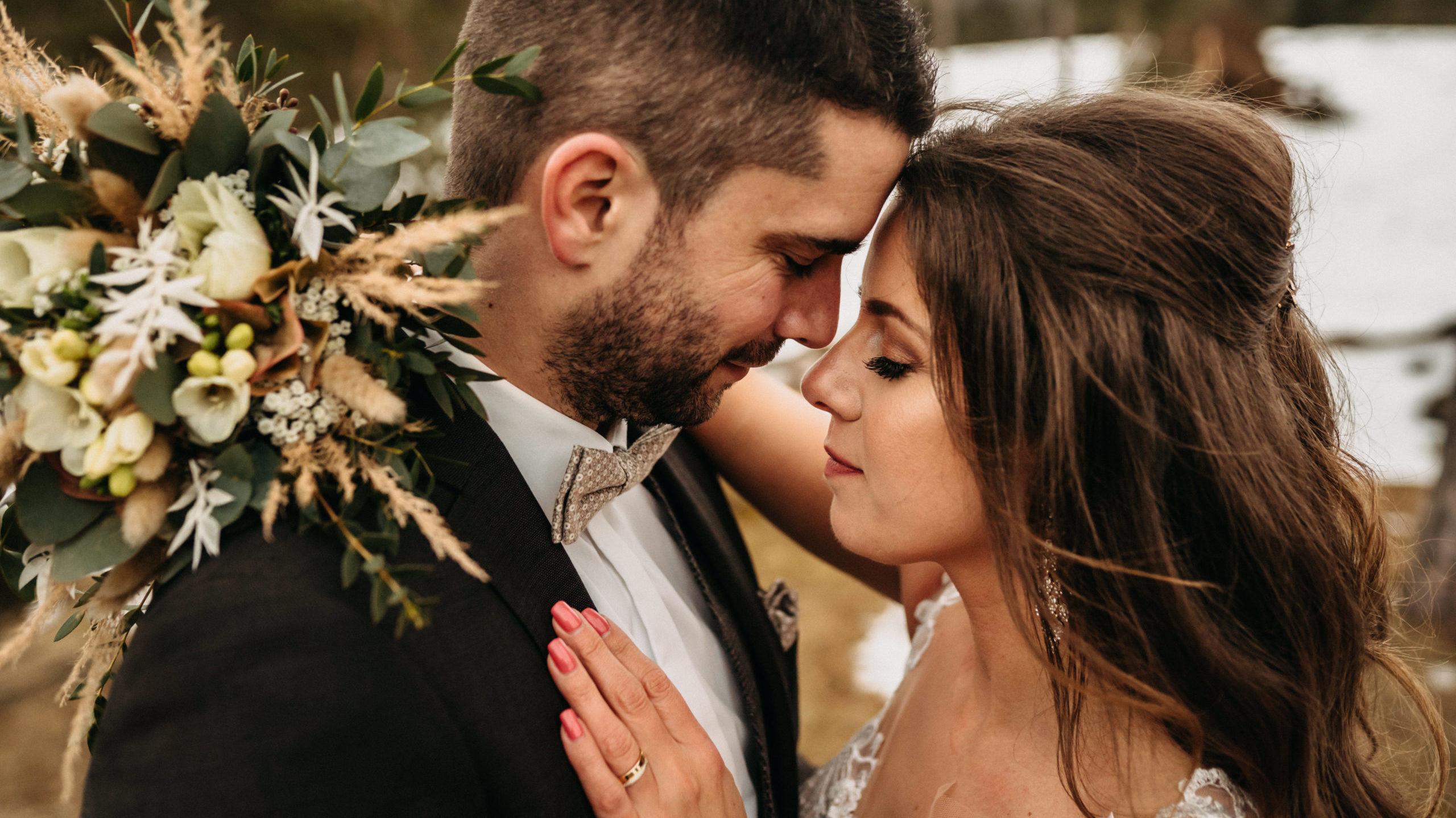 Abendliches Brautpaarshooting im Wental Felsenmeer